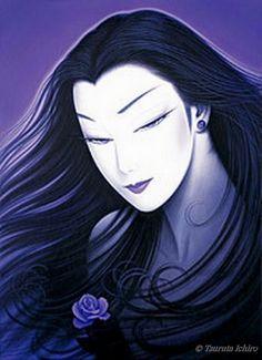 The Purple Rose by Ichiro Tsuruta.