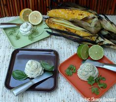 American Cuisine for the Olympics: Corn on the Cob with Herb Butter Flavored Butter, Flavored Oils, Butter Recipe, Butter Oil, Herb Butter, Homemade Seasonings, Homemade Food, Gourmet Garden, American Food