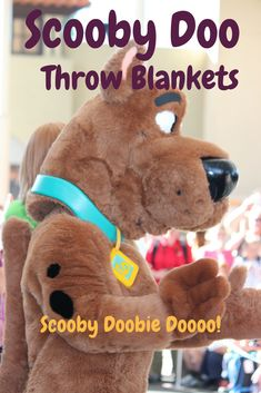 Blankets make ideal gift ideas because they're something everyone can use. But why give just an ordinary blanket when you can give any one (or more) of these Scooby Doo throw blankets?