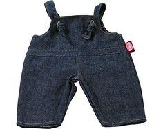 Gotz Basic Boutique Denim Overalls for 13 Baby Doll