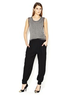 Silk Pleated Sweatpant by 3.1 Phillip Lim Brand on Gilt.com