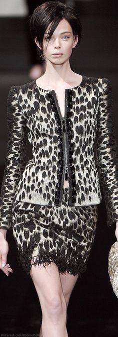 Armani Privé | Haute Couture F/W 2009 | The House of Beccaria~