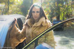 A rabbit fur coat like this is perfect for the modern woman - one who won't sacrifice style to stay warm and toasty. Looking forward to a great Lim'ore winter!