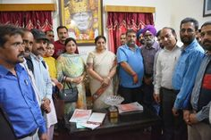 A high level delegation of Jammu Kashmir Teachers Forum under the leadership of Sh. Ganesh Khajuria State General Secretary called on Honble Minister of State for Education Smt. Priya Sethi Ji and congratulated her fulfilling the commitment by keeping in abeyance the controversial order No: 66 dated 16-02- 2017 regarding the Screening Test of teaching incumbents who have acquired their degrees through Distance Mode. The role played by the Honble Minister was highly praiseworthy and is being…