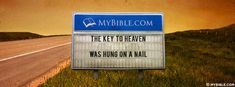 The Key To Heaven Was Hung On A Nail. - Facebook Cover Photo