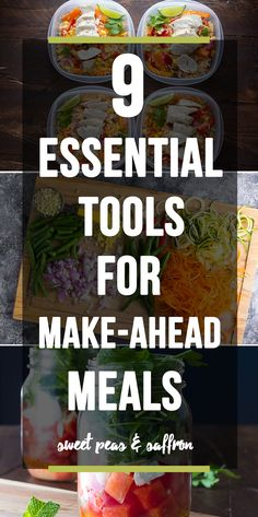 9 Essential Tools for Make Ahead Meals (Meal Prep)