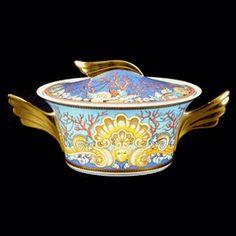 Versace by Rosenthal La Mer Vegetable Bowl