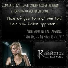 #Resistance #TRWC #ResistanceIsFutile  https://www.amazon.com/Resistance-Reluctant-Warrior-Novella-2-5-ebook/dp/B078L5LW69