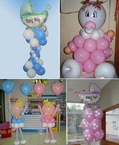 Making babies a different way – superb baby shower balloon ideas from Prasnikov in Kiev Baby Shower Fun, Baby Shower Balloons, Baby Shower Gender Reveal, Shower Party, Baby Shower Parties, Baby Shower Gifts, Baby Gifts, Diy Balloon, Balloon Crafts