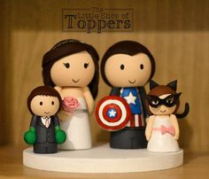 Your place to buy and sell all things handmade Wedding Cake Toppers, Wedding Cakes, Superhero Cake Toppers, Superhero Family, Tie Colors, Lightsaber, Colorful Flowers, Special Day, Our Wedding