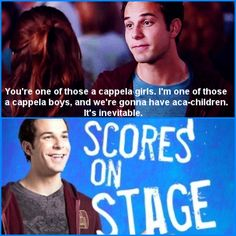 pitch perfect - Best pick-up line Pitch Perfect 1, Best Pick Up Lines, Message In A Bottle, A Whole New World, Inevitable, Great Movies, Percy Jackson, Make Me Happy, Movie Quotes