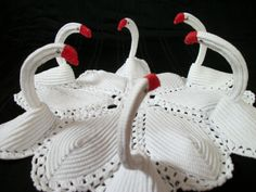Swan Bathroom Set Pattern | Free Crochet Patterns