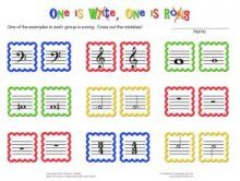 """""""One is write, One is rong!"""" Music literacy worksheet.  (I think I would change a few things but this looks cute!)"""