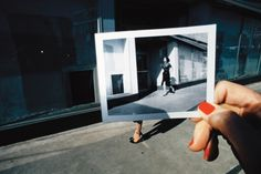 Think on your feet ... from the Spring French Vogue 1978 Charles Jourdan campaign. Photograph: © The Guy Bourdin Estate 2014 / Courtesy of Louise Alexander Gallery.