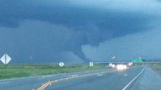 Tornado near Williams, CA. along Interstate 5 on 3.26.14