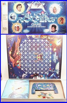 """Vintage 1979 BUCK ROGERS """"Adventures in the 25th Century"""" Space Board Game"""