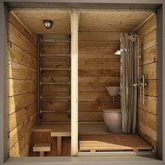The Skit: An off-grid, cross-shaped, tiny house for one - The Skit contains a composting toilet and shower (Image: Dachi Papuashvili) -