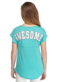 Red Camel  Awesome Printed Sweeper Top Girls 7-16