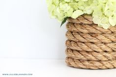 Check out these fantastic diy decorating ideas with rope, and most of these rope home decor projects you could easily DIY yourself.