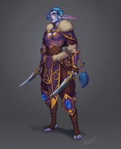 My rogue night elf on World of Warcraft, Maerose Shadowleaf. World Of Warcraft Characters, Dnd Characters, Fantasy Characters, Female Character Concept, Fantasy Character Design, Character Art, Fantasy Female Warrior, Fantasy Girl, Dragon Age
