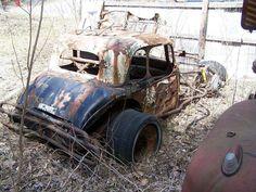 Old dirt track car.