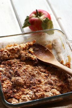 Apple Crisp.  Rate: 10/10.