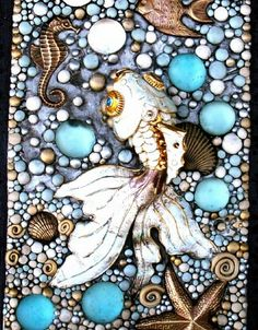 Graceful Goldfish journal closeup 2 by MandarinMoon, via Flickr
