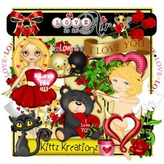 ♥KittzKreationz♥: Love Is In The Air Kit Taggers Kit~ ready to download!