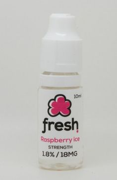 Our finest raspberry flavour infused with hints of menthol; the peppermint balances out the sweet aroma with an ice cool feel and stops it becoming too overpowering