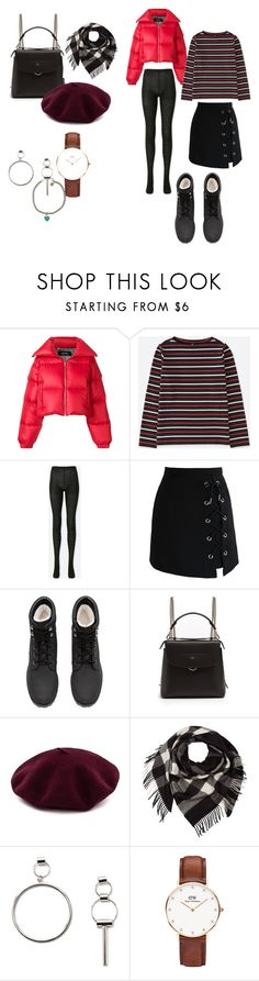 """""""Untitled #44"""" by kaina-kbeauty93 ❤ liked on Polyvore featuring MISBHV, Uniqlo, Chicwish, H&M, Fendi, Burberry, Forever 21, Daniel Wellington and Tiffany & Co."""