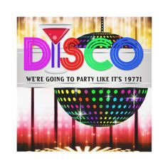Cocktail Disco Dance Party Invitations from Zazzle.com