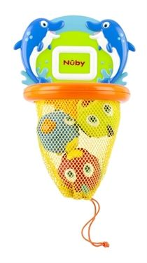 Nûby™ Fish Swoosh™ Bath Time Play Set