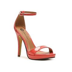 Michael Antonio Lovina Patent Sandal-i could make these into my bowtie sandal!