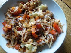 Spicy Cauliflower Hashbrowns