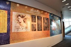 Taylor's display at the Grammy Museum!