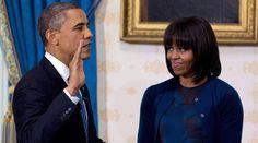 Obama arranca su segundo mandato con un juramento privado en la Casa Blanca