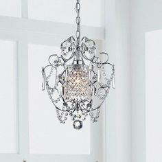 You'll love the 1 Light Crystal Chandelier at Wayfair - Great Deals on all Lighting  products with Free Shipping on most stuff, even the big stuff.