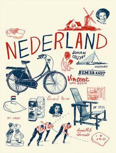 Nederland,  de mooiste plaats <3