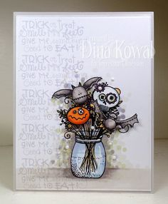 Halloween Bouquet by dini - Cards and Paper Crafts at Splitcoaststampers