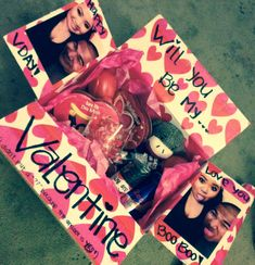 long distance relationship: Valentine's Day care package