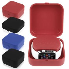 For Apple Watch Charging Dock Station Charger Mount Holder Storage Box Bracket   eBay Cute Apple Watch Bands, Watch Station, Watch Holder, Apple Inc, Docking Station, Apple Products, Birthday Presents, Gadgets, Sparkle
