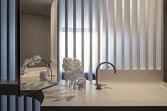 Manly Apartment Smart Design, Bathrooms, Curtains, Studio, Architecture, Interior, Furniture, Home Decor, Arquitetura