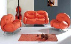 Living room with ultra modern sofa Nido sofa 03 Ultra modern living room furniture.