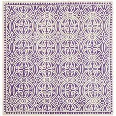 Safavieh Cambridge Purple/Ivory Rug