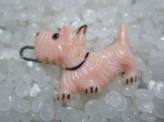vintage barrette scottie dog by rosebudcottage on Etsy, $10.00