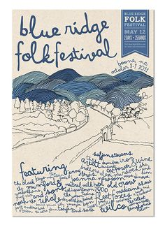 folk festival poster - Google Search
