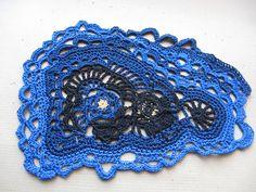 Freeform crochet lace