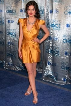 Lucy Hale.  love this color