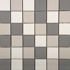 "Emser Tile & Natural Stone: Ceramic and Porcelain Tiles, Mosaics, Glass Tiles, Natural Stone, Ceramic & Porcelain: Times Square, Mosaic Blend 2""x2"" On 12""x12"" Mesh"