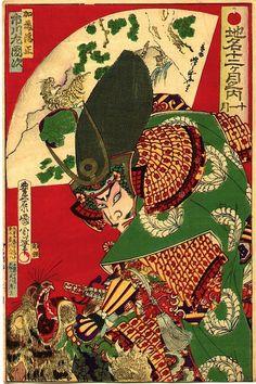 Famous Views of the Twelve Months (Chimei Juni ka Getsu no Uchi) 1881